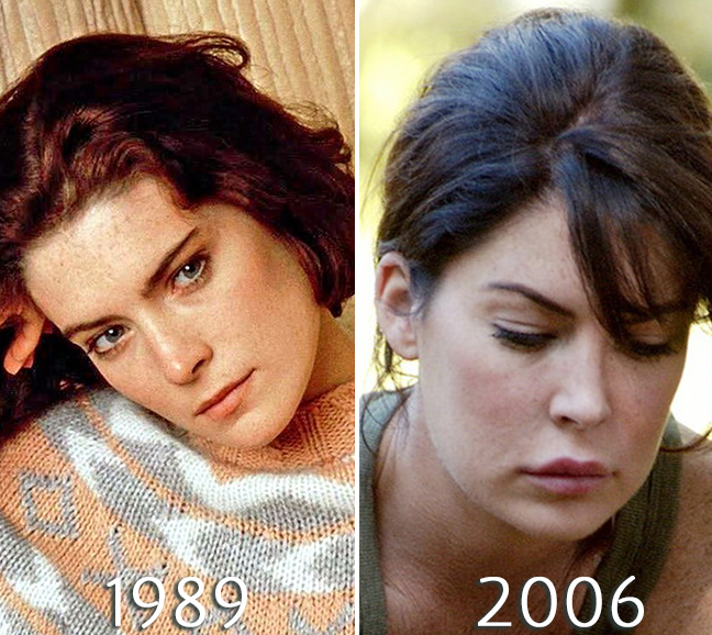 Lara Flynn Boyle plastic surgery photos before and after